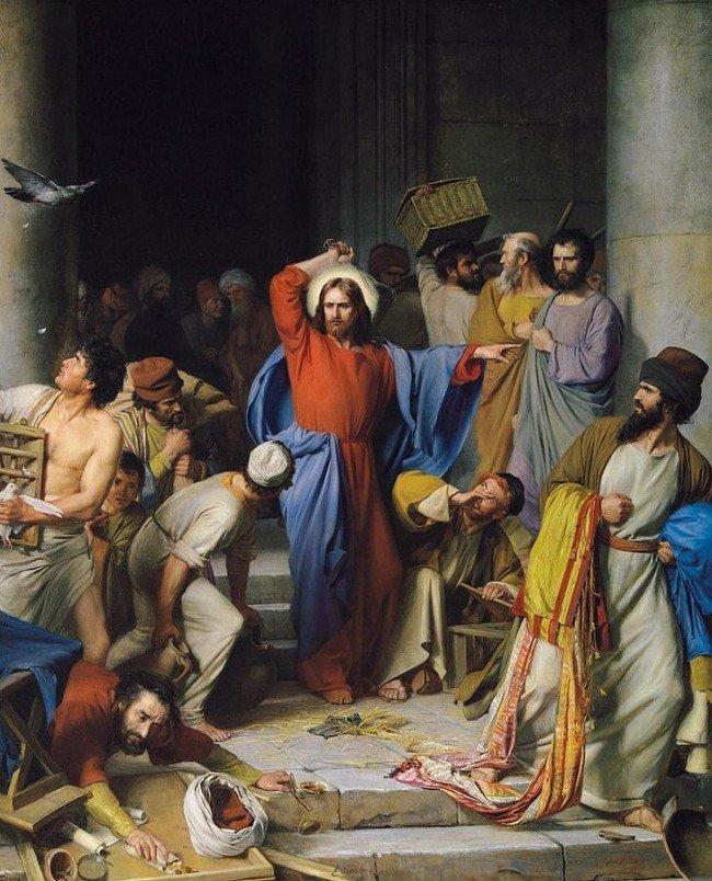 Jesus Clears the Temple - John 2:13-23