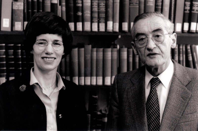 Barbara and Kurt Aland (1988) (Wikimedia Commons)