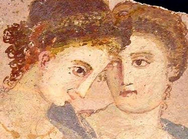 Freso of two first century CE Roman women
