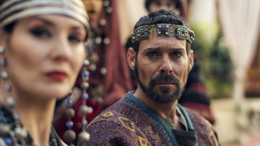 James Callis Is Antipas in AD: The Bible Continues