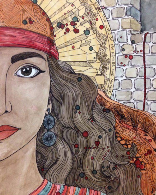 Rahab, Sarah Beth Baca ART