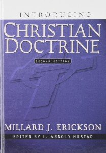 Theology books Erickson