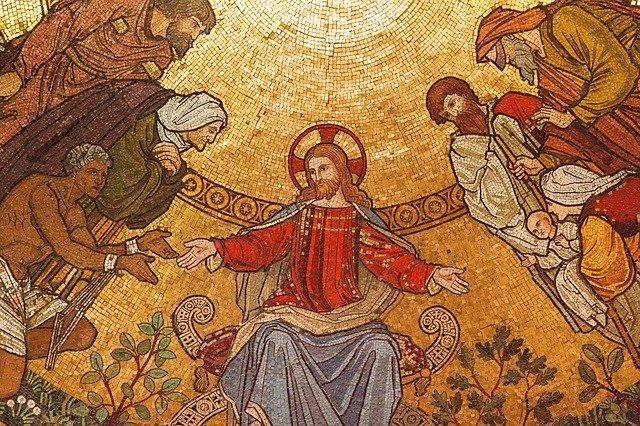 Jesus is no longer on a cross